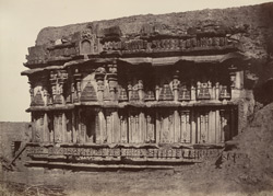Lukhmeshwur. A ruined temple. [Corrected caption: Amriteshwara Temple, Annigeri.]